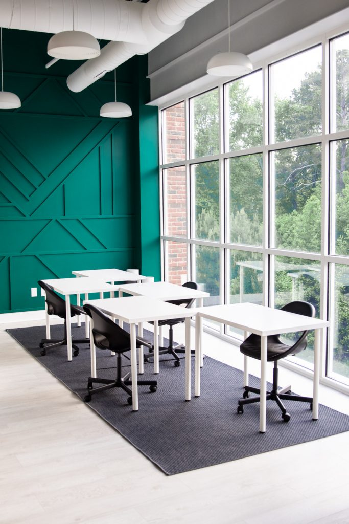 Community Coworking Workroom at the Studio 557 | Holly Springs, NC